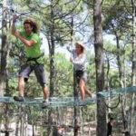 Vacances en amoureux aventure au camping les sous-bois du lac