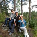 Camping en famille au lac de Naussac
