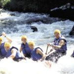 Rafting en groupe en Lozère