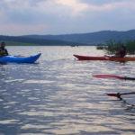Activité aquatique en Lozère au camping les Sous-bois du lac