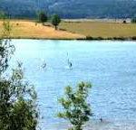 Lac de Naussac en Lozère